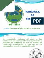 Port a Folio de Servicios Purace 2010