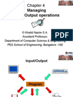 Output Operations