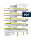 2008 Salary Calculator Blank