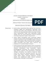 UU No 1 Tahun 2011 Tentang Perumahan Dan Kawasan Pemukiman