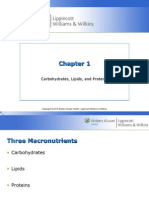 Exercise Physiology McArdle Et Al (Ed 7) Chapter 1 - Carbohydrate, Lipid and Proteins
