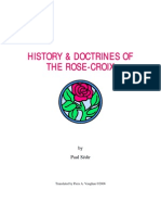 History & Doctrines of the Rose-croix