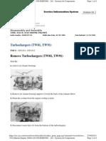 Turbochargers (TW81, TW91 Desarmado y Armado