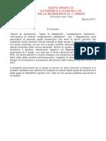 Scheda Flc Cgil Autonomia e Flessibilita Second Aria II Grado Istruzioni Per l Uso