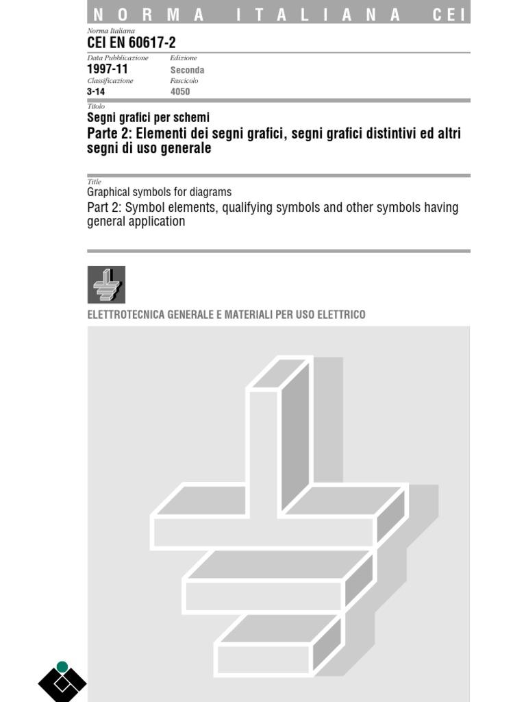 Schemi Elettrici Navali : Cei segni grafici per schemi elementi dei segni grafici