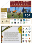 2011 State of the Prairie Conference Information - Sept 28 Update