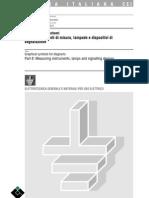 CEI 3-20_8 Segni Grafici Per Schemi - Strumenti Di Misura, Lampade e Dispositivi Di Segnalazione – 2°