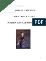 Baciu George - Puterea Emotiilor in Publicitate