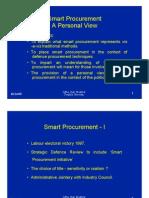(1998) Smart Procurement overview