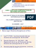 Ventajas Comparativas de Motores Eficientes
