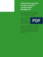 Cybernetics Approach to Sales Incentive Compensation Management