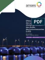 FR-Effets sanitaires des systèmes d'éclairage utilisant des LED