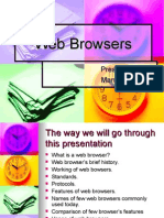 Web Browsers Manish