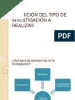 DEFINICIÓN DEL TIPO DE INVESTIGACIÓN A REALIZAR