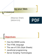 Establishing Your Web Presence