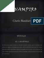 El vampiro BAUDELAIRE