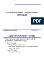 Introduction to Data Communication Techniques