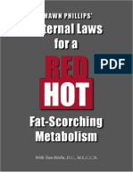 7 Eternal Laws of a Red Hot, Fat Scorching Metabolism First Edition