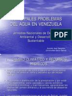 Principales problemas de Venezuela en cuanto a sus recursos hídricos, por Arnoldo Gabaldon