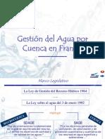 La Gestión Pública Francesa  de los Recursos Hídricos
