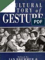 Jan Bremmer & Herman Rood en Burg - A Cultural History of Gesture