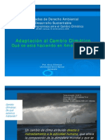 Aportes y limitaciones de la ciencia en Cambio Climático, por Alicia Villamizar