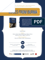 Voices From Burma Event