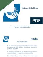 La Carta de la Tierra como perspectiva ética del Cambio Climático, por María Elisa Febres