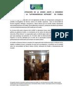 DIRECTOR DE INVESTIGACIÓN DE LA UNIDEC ASISTE A CONGRESO INTERNACIONAL DE LA