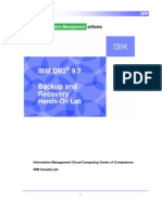 2.1 - DB2 Backup and Recovery_Lab