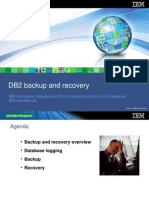 2.1 - DB2 Backup and Recovery