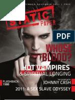 Static Paper - Fall 2011