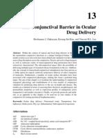 The Conjunctival Barrier in Ocular Drug Delivery
