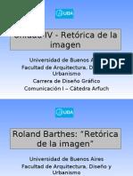 Presentación Retórica Barthes