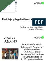 Reciclaje en Venezuela, por Luisa Villalba