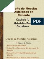 DISEÑO DE MEZCLAS ASFALTICAS EN CALIENTE
