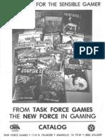 Task Force Games Catalog 1981