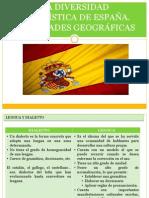 DIVERSIDAD LINGÜÍSTICA DEL ESPAÑOL