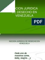 Los desechos en Venezuela
