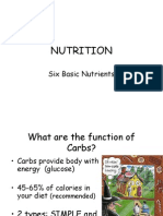 NUTRITION Power Point