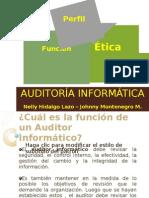 Perfil Funciones Deontologia de Un Auditor Informatico1