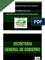 RENDICUENTAS GOBIERNO