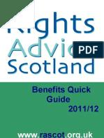 RAS Quick Guide 2011