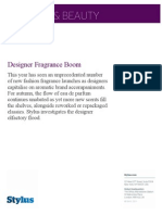 Stylus Designer Fragrance Boom Screen