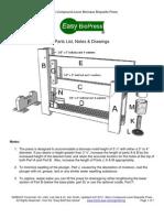 Easy BioPress Micro Compound Lever Biomass Briquette Press