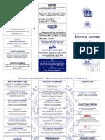 Depliant Convenzioni Pugliatti-Peloro