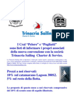 Locandina Speciale Week End e I Maggio Trinacria Sailing