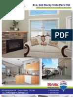 432 369 Rocky Vista Park NW - Feature Sheet