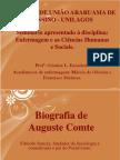 Seminário sobre Auguste Comte