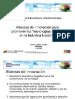 Alianzas de Innovación para la Producción Limpia, por Osmer Castillo